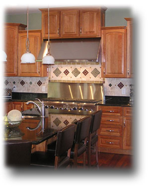 Ceramic Tile & Stone Backsplash
